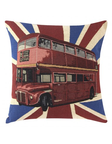 Eurofirany Pillow Case On The Pillow, City 19 45X45 Red/Blue