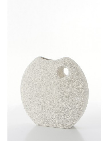 Eurofirany Decorative Vase Riso 2 27X7X27 Cream