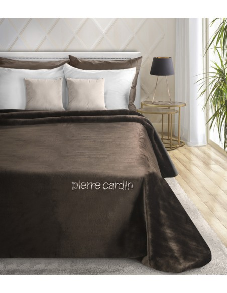 Pierre Cardin Quilt 160X240 Coral Brown