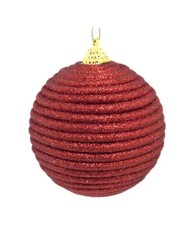 Eurofirany Christmas Tree Ornament Christmas Susan 1-5 8Cm Red