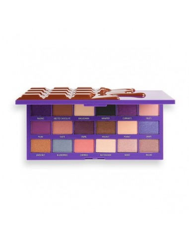 Makeup Revolution Fruit and Nut Chocolate Palette Eyeshadow Palette