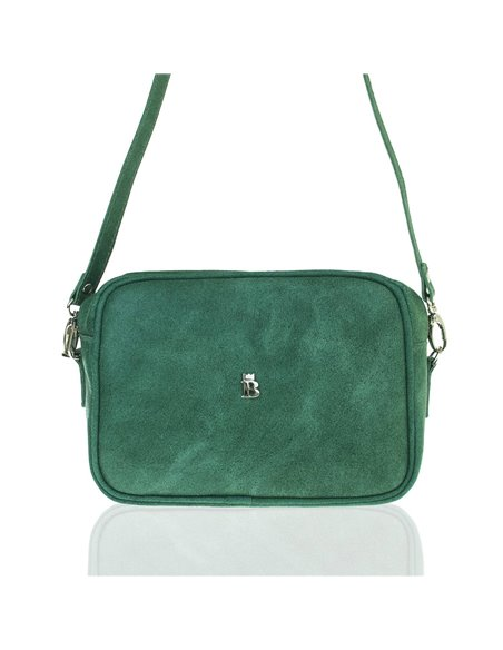 Women's baleine messenger bag s155 green