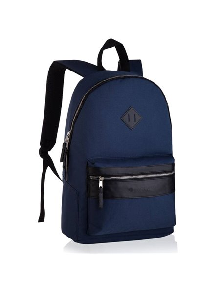 Stylish backpack from Betlew epo-4450 navy blue