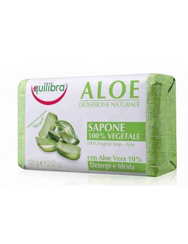 Equilibra Aloe with agentle Soap 100g