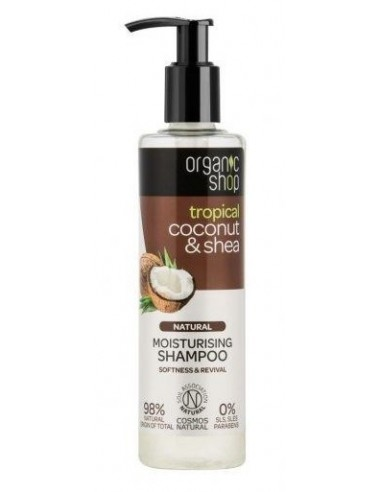 Organic Shop Shampoo Coconut and Shea