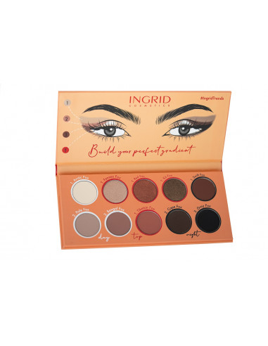 Ingrid Foxy Eyes Trendy Eyeshadow Palette