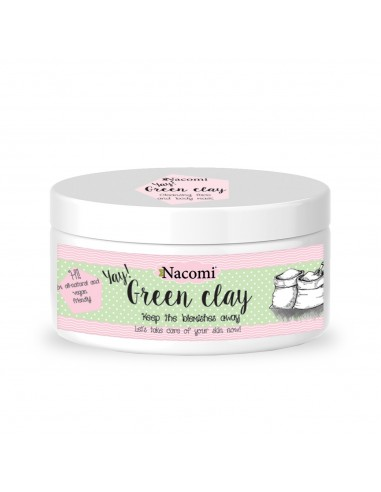 Nacomigreen Clay for Face 65g