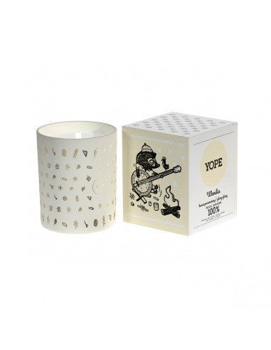 Yope Candle Scented Vanilla 200g