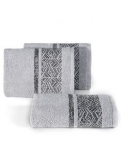 Pierre Cardin Smooth Towel Teo 50X100 Silver
