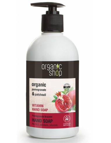 Organic Shop Vitamins liquid Soap 500ml