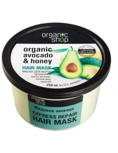Organic Shop Hair Mask Avocado and...