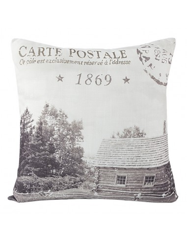 Eurofirany Village Decorative Pillow Case 45X45 Steel