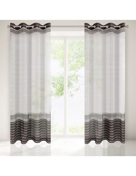Eurofirany Ready Made Curtain Evi 140X250 White