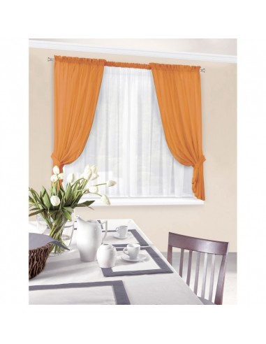 Eurofirany Ready Made Curtain Dominika2 400X145 Orange