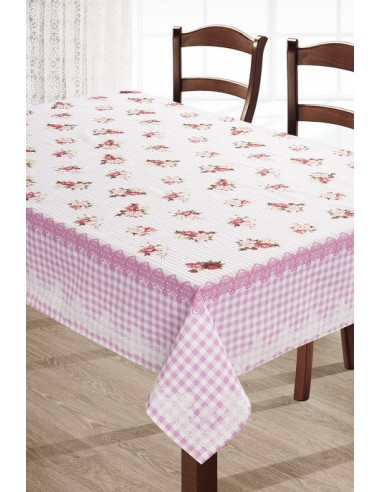 Eurofirany Tablecloth Roses Pink 140Х180