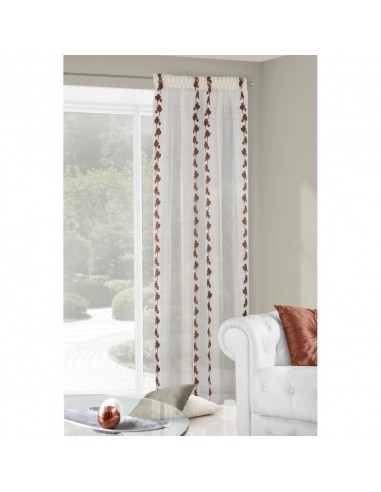 Eurofirany Ready Made Curtain Cortina 140X250 Cream/Brown