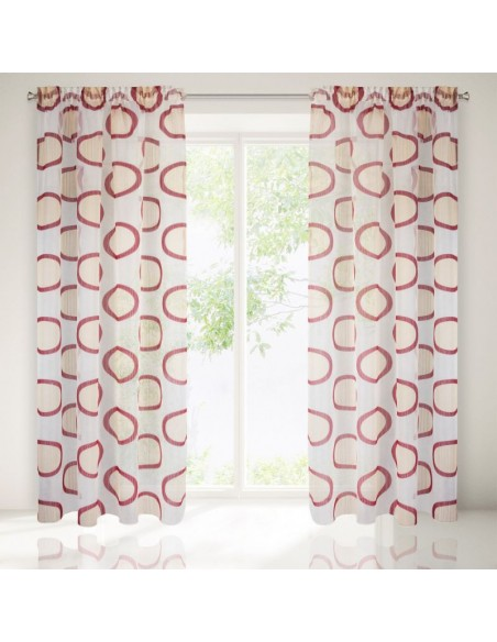 Eurofirany Ready Made Curtain Faith 140X280 Cream/Brown