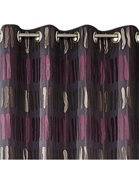 Eurofirany Ready Made Curtain Cheetah 140X250 Purple