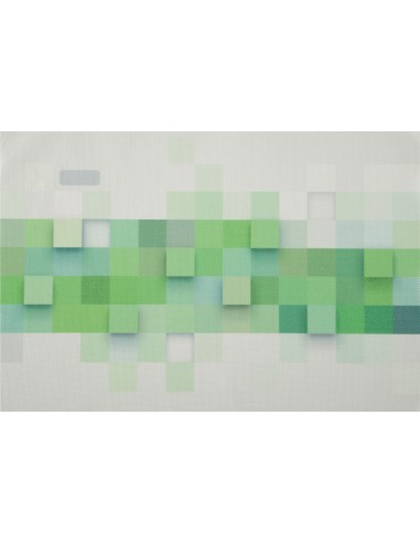 Eurofirany Mat 30X45 Decorative 3D Green