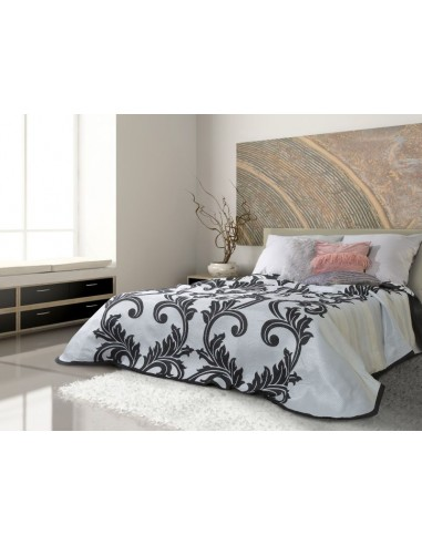 Eurofirany Bed Cover Fina 170X210 Steel /Black