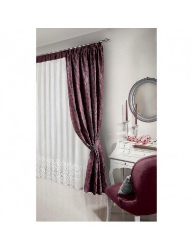 Eurofirany Ready Made Curtain 71 135X250 Dark Blue/Olive