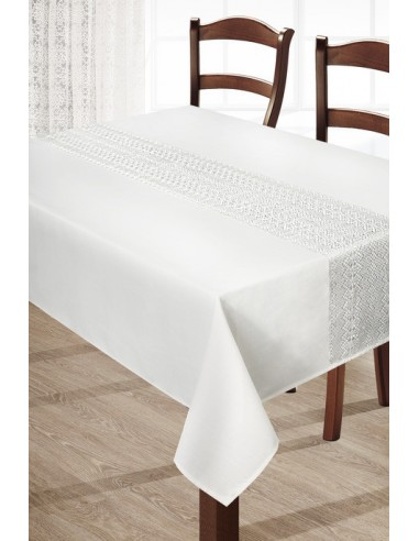 Eurofirany Tablecloth Floral K 150X220 Cream