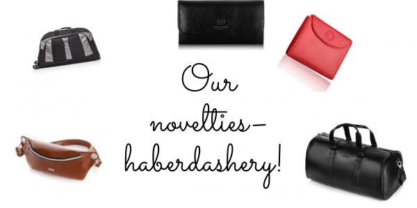 New in our store - haberdashery