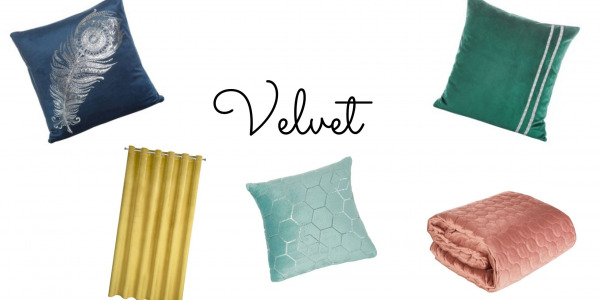 Velvet the most fashionable fabric of 2020